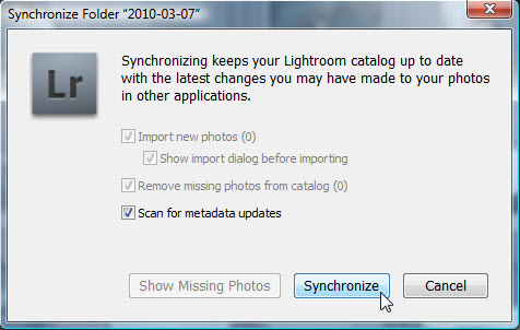 Adobe Photoshop Lightroom Synchronisatie Mappen Mappenstructuur Folders