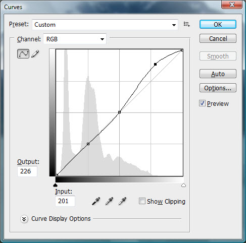 Adobe Photoshop Lightroom Curves