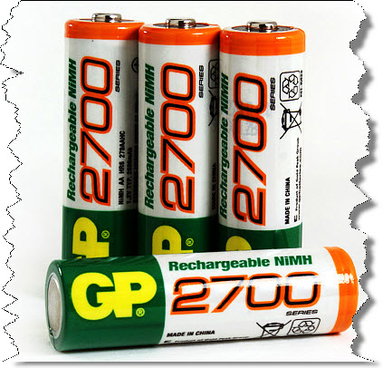 Li_Ion Batterij GP2700