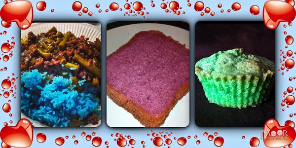 creafief met kleurstof iPhone iPhonografie keuken koken bakken