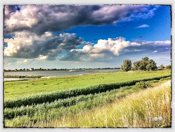 iPhonografie iPhone Foto Zicht op de Merwede