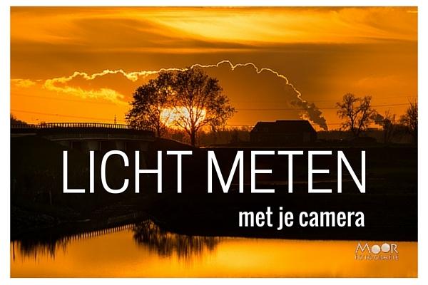 Licht Meten Lichtmeting Camera