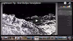 Lightroom Tip snel stofjes verwijderen video
