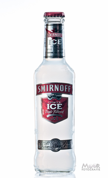 Productfotografie Fles Smirnoff Ice