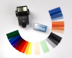 Strobist Fotografie Materiaal Gels