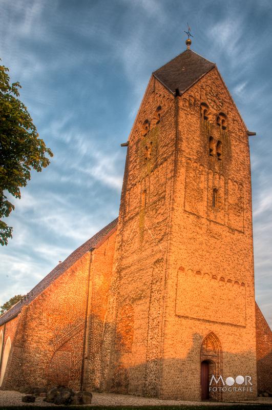 Walfriduskerk Kerk Bedum Groningen HDR High Dynamic Range Fotografie