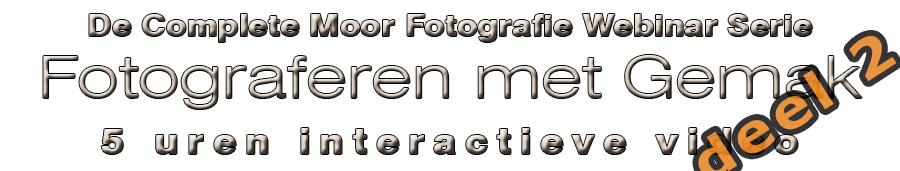 Webinar Serie Fotograferen met Gemak