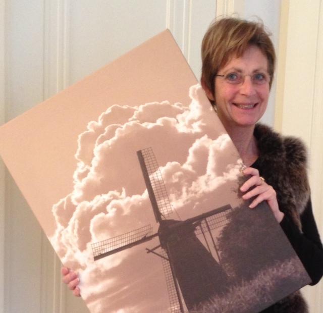 Winnaar canvas fotowandeling Woudrichem oktober 2012