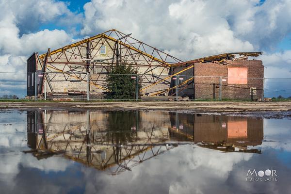 Woordloze Woensdag Spiegeltje HDR Reflectie Landschap Biesbosch Water