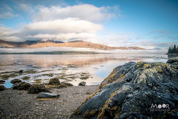 Woordloze Woensdag Loch Linnhe Schotland