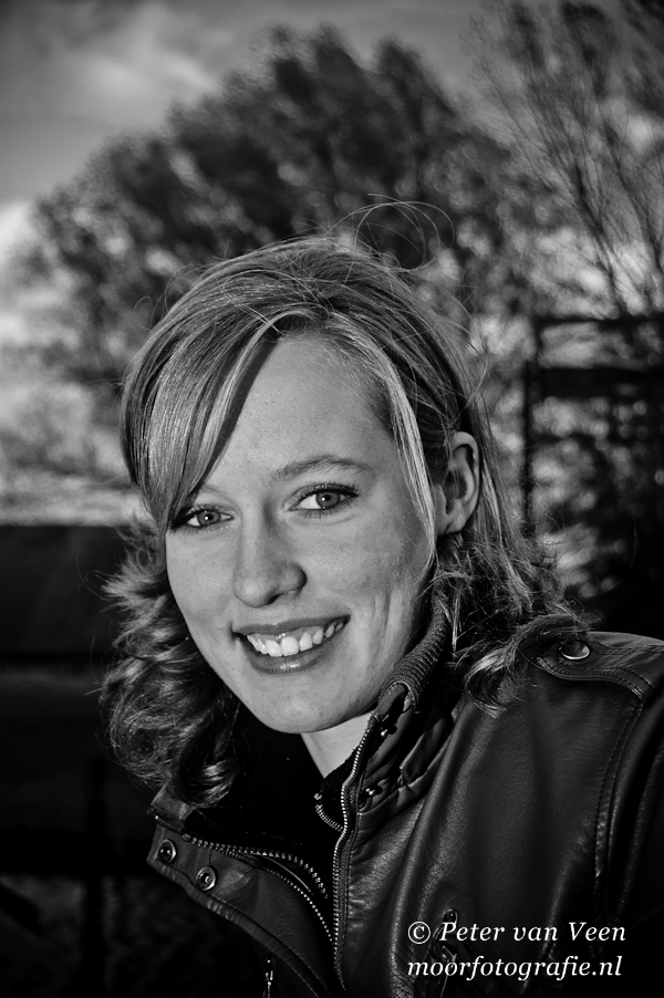 Woordloze Woensdag Portret Fotoshoot Cora