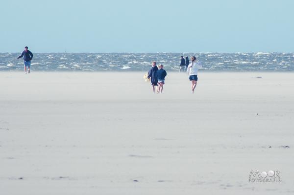 Zand, water, hitte en stof