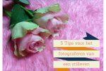 5 tips voor het fotograferen van een stilleven